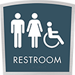 Apex Regulatory Unisex Handicap Braille Sign