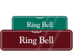 Ring Bell Sign