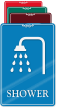 Shower ShowCase Wall Sign