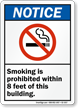 Smoking Prohibited Notice Sign