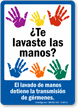 Hygiene Sign, Spanish