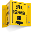 Spill Kit Projecting V-Sign