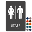 Staff Tactile Touch Braille Sign