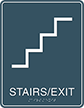 Stairs Exit Avalon Regulatory Sign