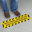 6in. x 24in. SlipSafe™ Floor Safety Signs