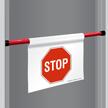 Stop Door Barricade Sign