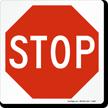 STOP Magnetic Door Sign
