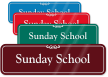 Sunday School ShowCase Wall Sign