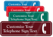 Telephone Symbol Sign