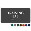 Training Lab Tactile Touch Braille Sign