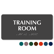 Training Room Tactile Touch Braille Sign