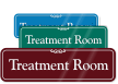 Treatment Room ShowCase Wall Sign