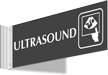 Ultrasound Corridor Projecting Sign
