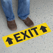 Exit with Up Arrows