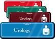 Urology Hospital Showcase Sign