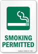 Smoking Permitted - vertical