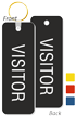 Visitor Double Sided Keychain