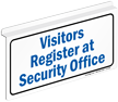 Visitors Register At Security Office