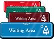 Waiting Area Lounge Showcase Hospital Sign