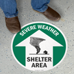 Severe Weather Shelter Area