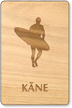 Kane Wooden Restroom Sign