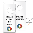 Custom Do Not Disturb Logo Door Hang Tag