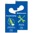 Custom Maintenance Housekeeping Hang Tag