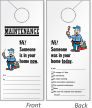 Maintenance Personnel In Your Home Door Hanger