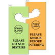 Custom Please Do Not Disturb Door Hang Tag