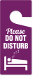 Please Do Not Disturb Door Hanging Tag