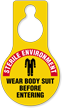 Sterile Environment Wear Body Suit Hang Tag