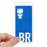 Letter BR WithToilet Seat Symbol