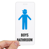 Boys Bathroom Hall Pass ID