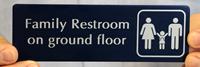Family Restroom Symbol Signs