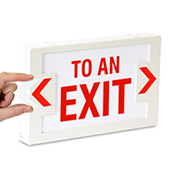 To An Exit,LED Exit Sign
