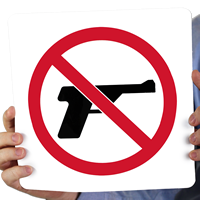 Firearm Signs Signs