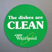 Dishes Are Dirty / Dishes Are Clean Label