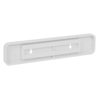 Molded Plastic Sign Holder, 2in. x 10in.