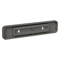 Molded Plastic Sign Holder
