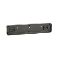 Molded Plastic Sign Holder, 2in. x 9in.