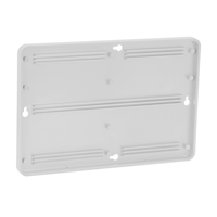 Molded Plastic Sign Holder For Door
