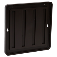 Molded Plastic Sign Holder, 8In. X 8In.