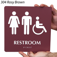 Restroom Men / Women Signs