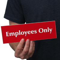 Employees Signs