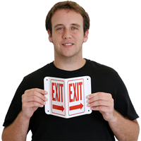 Projecting Directional Exit