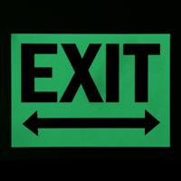 Exit (With Arrow Symbol)