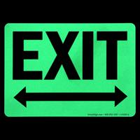 Directional Door Sign