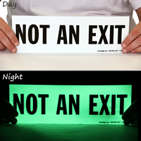 Glow-in-the-Dark Not an Exit Sign