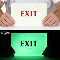 Glow TactileTouch™ Exit Sign