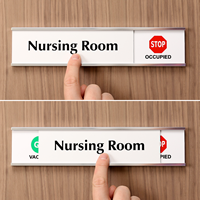 Nursing Room - Vacant/Occupied Slider Signs